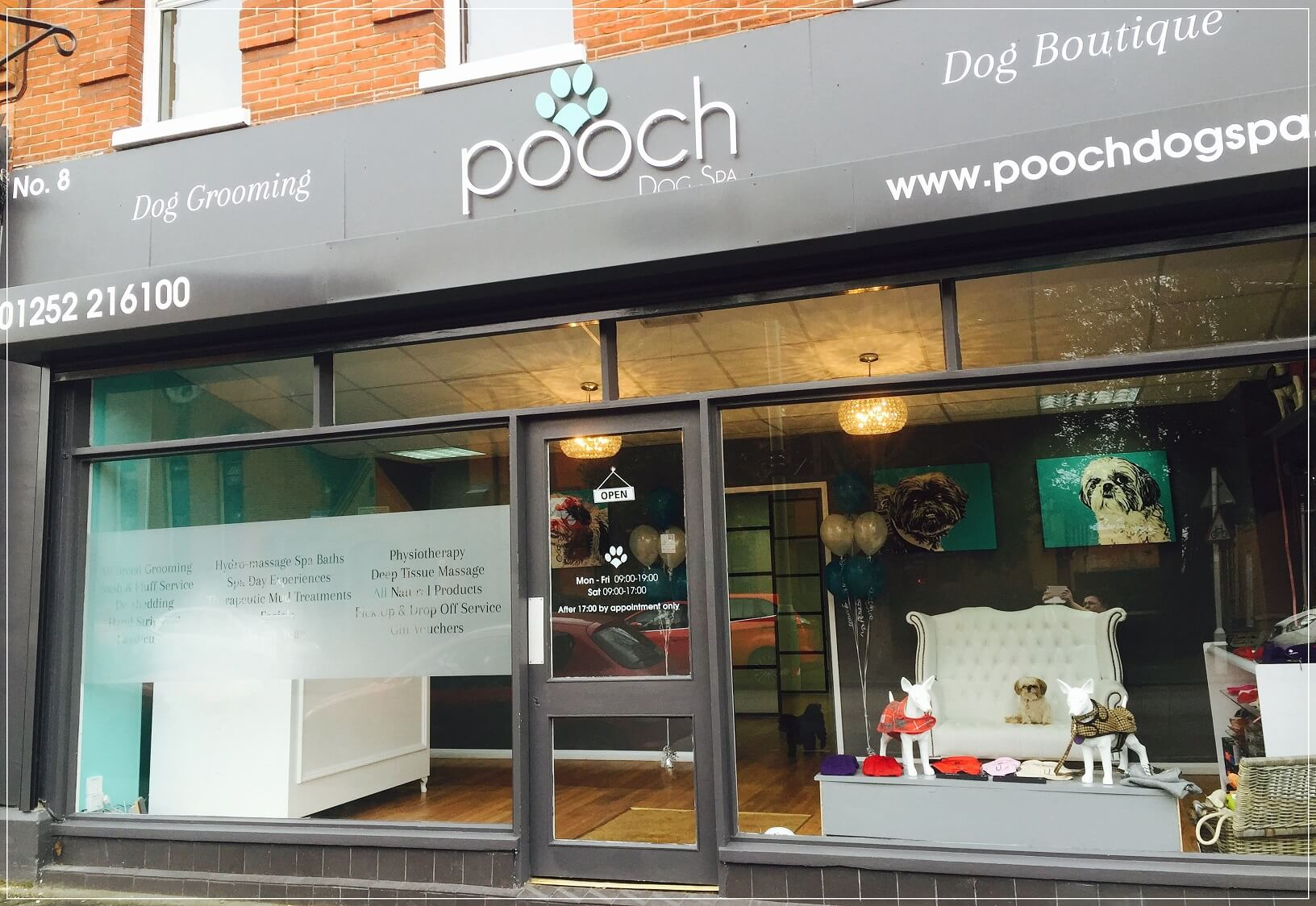 About us pooch dog spa for A bath and a biscuit grooming salon